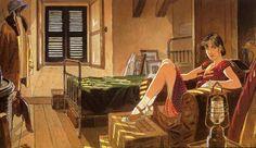 Illustration by Jean Pierre Gibrat