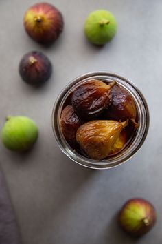 Pickled figs are great for a cheeseboard or charcuterie appetizer! #freshfigrecipes #californiafigs #picklingrecipes #preserving Fig Appetizer, Appetizers, Vegan Gluten Free, Vegan Vegetarian, Fig Recipes, Distilled White Vinegar, Figs, Charcuterie, Cinnamon Sticks