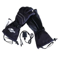 Heated Gear Heated Leather Palm Gloves Kit Size X-Large
