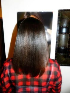 growing healthy long relaxed hair