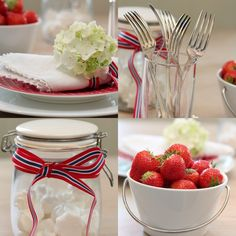 17 mai Constitution Day, Norwegian Food, Public Holidays, Party Gifts, Red And White, Strawberry, Food And Drink, Lunch, Table Decorations
