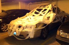 TP'd Stefan's car as pay-back for his Dongle prank on my computer! http://www.averetek.com/channel-chat/12-company-culture/20-warning-don-t-mess-with-creative-folks