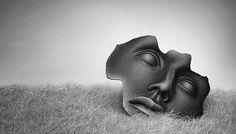 Thoughts Captivity by BenHeine on DeviantArt Ben Heine, Amazing Adventures, Deviantart, Statue, Thoughts, Gain, Netherlands, Notes, Wisdom