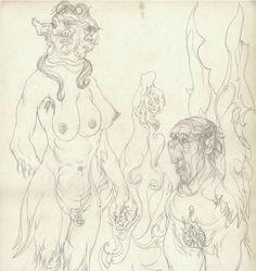 The occult art of Austin Osman Spare Austin Osman Spare, Automatic Drawing, Occult Art, Dark Night, Surreal Art, Led Zeppelin, Fireworks, Sculpture Art, Graphic Art