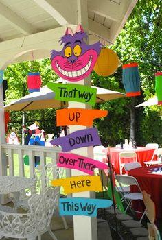 Alice in Wonderland Birthday Party~