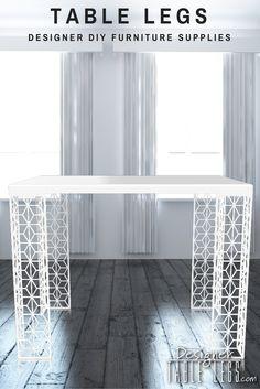 Outdoor Patio Table Legs DIY Furniture Supplies Ikea Hack www.designertablelegs.com Designer