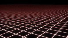 MMDステージ グリッド 発光色変えモーフあり - BowlRoll