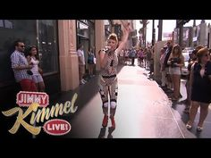 "Kiesza Performs ""Hideaway"", (DANCING and SINGING), TOTALLY LIVE on ""Jimmy Kimmel Live""."