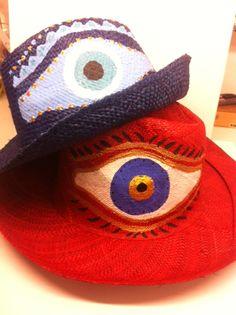 handpainted hats