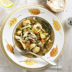 This is real comfort food, can be made from Sunday lunch leftovers and will give you a lift if you�re under the weather � it freezes brilliantly, too