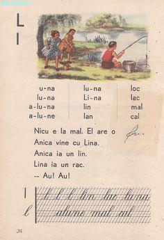 Vintage School, Nicu, Kids Education, Book Illustration, Vintage World Maps, Nostalgia, Activities, Learning, Books
