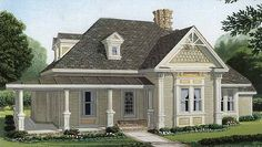 Country House Plan with 1891 Square Feet and 3 Bedrooms from Dream Home Source | House Plan Code DHSW73967