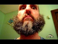 Stop-motion beard magic. Lots of guys take pictures of the phases of shaving, but this guy had a little more fun with it.