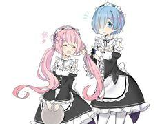 コラボは素晴らしい Anime Chibi, Kawaii Anime, Manga Anime, Chibi Girl, Re Zero, Darling In The Franxx, Madoka Magica, Another World, Compass