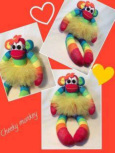 Annabelle the tutu Sockmonkey by sunnyteddysdesigns