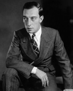 Buster Keaton Circa 1920's  Amazing actor with agility like I've never seen.