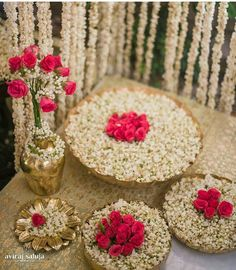 Great Love this floral Decor with prinstine white and red ….perfect for Mehendi The post Love this floral Decor with prinstine white and red ….perfect for Mehendi … ap . Diwali Decorations At Home, Wedding Stage Decorations, Flower Decorations, Table Decorations, Desi Wedding Decor, Wedding Mandap, Ethnic Wedding, Wedding Receptions, Trendy Wedding