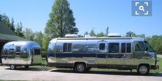 """Consider this Airstream style on a 4x4 Mercedes F50 170"""" 24ft Chasis - and Add a Slide (pop-out)!!! Perhaps HoffmanArchitecture might consider!"""