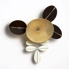 Dongchun Lee Korea: Breathe - brooch, 2010, latex, iron, paint
