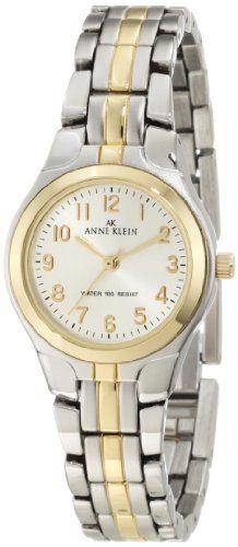 Anne Klein Women's 105491SVTT Two-Tone Dress Watch - http://www.specialdaysgift.com/anne-klein-womens-105491svtt-two-tone-dress-watch/