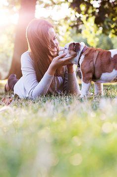 Marfa the English Bulldog Puppy by the London Phodographer | Pretty Fluffy