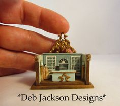 From DJD Shop room-box toyfor a miniature by DebJacksonDesigns