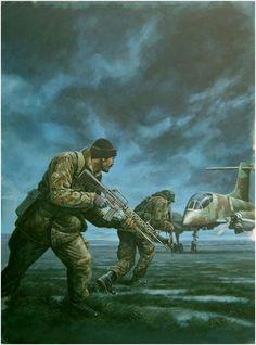 la guerra de malvinas cuyo objetivo fue la destrucción del campo de ...