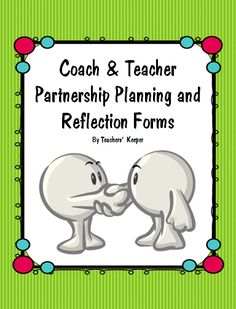 Instructional coaching planning forms. These forms help to plan and reflect model lessons, with opportunities for the observer to take notes and discuss with the coach.