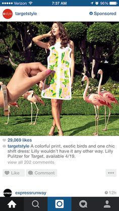 Target is leaning heavily on mobile to make the most of its buzzed-about tie-in with the Lilly Pulitzer brand, leveraging social media, SMS and email to target style-savvy young consumers.