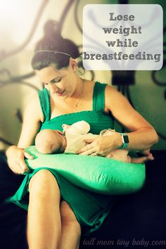 Tips for moms on how to safely lose weight while breastfeeding a new baby - walking off the postpartum pounds.