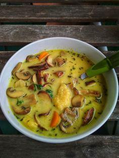 Rabbit Food, Edamame, Cheeseburger Chowder, Italian Recipes, Vegetarian Recipes, Goodies, Food And Drink, Soup, Gluten