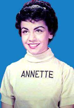 Mickey Mouse club, Annette Funacello.