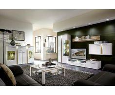 Nouveau : Ensemble meuble de salon design - Meuble de salon design - Meuble et Canape.com Table, Cabinet, Furniture, Kitchen, Conference Room Table, Home Decor, Kitchen Cabinets