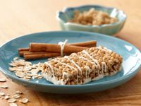 So yummy with a cup of pumpkin spice coffee! Cinnamon Roll Crunch Bar. Lose weight and gain health!