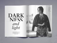 Fashion Journal Redesign on Editorial Design Served