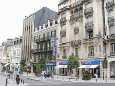 Pau, France, Hotel Continental, my home for several months!!
