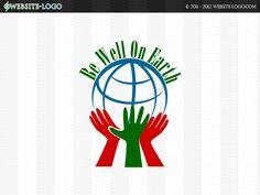 Website Logo Design for Be Well On Earth Website Logo, Unique Logo, Branding Your Business, Brand You, Logo Design, Earth, Logos, Creative, Logo