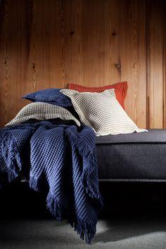 Mantas e almofadas Piquet