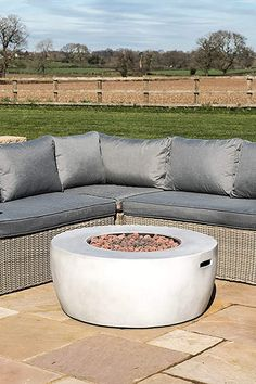 Fire Pit Heater, Limestone Patio, Outdoor Fire, Outdoor Decor, Gas Fire Pit Table, Deck Decorating, Gas Fires, Outdoor Gardens, Concrete