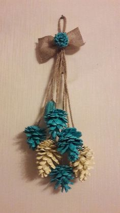 10 Creative Pinecone Crafts For Your Ideas Fall Crafts, Home Crafts, Diy And Crafts, Crafts For Kids, Arts And Crafts, Pink Christmas Decorations, Pine Cone Decorations, Diy Christmas Ornaments, Pine Cone Art