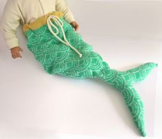 The baby mermaid tail!