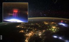O QUE É ISSO? Astronauta Captura Misteriosa LUZ VERMELHA