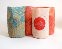 Silk Road | sustainable rice packaging