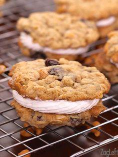 Oatmeal Butterscotch Whoopie Pies | ZagLeft