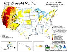 DEC 8th - Current U.S. Drought Monitor