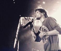 On stage at suncorp stadium in Brisbane Australia 2/11/15