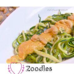 Spaghetti aus Zucchini - und das soll gut...   iHERZfood