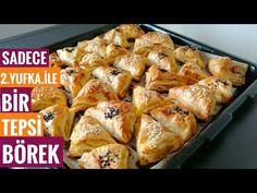 Bugün hemen kolayca hazırlayabileceğiniz bir börek tarifi veriyorum sizlere. 2 adet yufka kullanılarak 1 tepsi börek elde edebileceğiniz bu tarif tam bir cankurtaran niteliğinde. Pasta Cake, Turkish Recipes, Bread Recipes, Tea Time, Feel Good, Food And Drink, Yummy Food, Make It Yourself, Vegetables