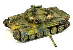 #scale #model #t72 #tank #mbt #syrian #russian #modern #war