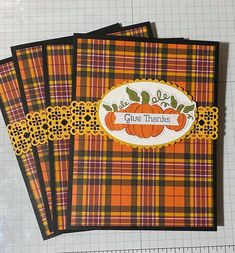 Thanksgiving Greeting Cards, Fall Cards, Winter Cards, Holiday Cards, Pumpkin Cards, Paper Pumpkin, Horse Cards, Scrapbooking, Fancy Fold Cards